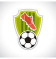 Sports soccer football badge vector image vector image