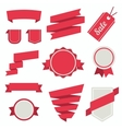 Stickers and Badges Set 3 Flat Style vector image vector image