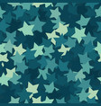 trendy fashion camouflage seamless pattern vector image vector image