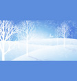 winter background a vector image
