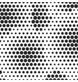 abstract dotted halftone background decorative vector image