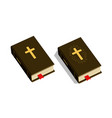 bible symbol worship church psalm icon vector image vector image