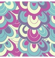 doodle hand drawn seamless floral pattern vector image vector image