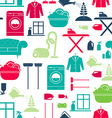 House Cleaning Seamless vector image