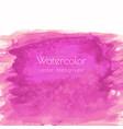 magenta pink rose marble watercolor vector image vector image