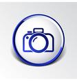 photo camera icon symbol photography vibrant vector image vector image
