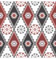 rhombuses pattern vector image vector image