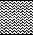 monochrome chevron seamless pattern vector image