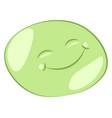 a happy mochi or color vector image vector image