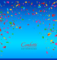 background with colorful confetti