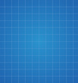Blueprint grid background Graphing paper for vector image