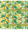 random leaves vector image