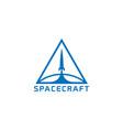 rocket logo vector image vector image