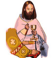 sacrament vector image