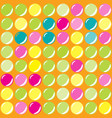 seamless background with colored balls vector image vector image