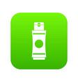tube of cream or gel icon digital green vector image vector image