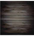 wood plank background vector image