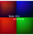 Smooth abstract colorful backgrounds set vector image
