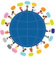 People Talk Around the World vector image