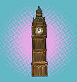 london big ben watch vector image