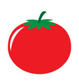 red tomato icon vector image
