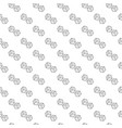 simple dice seamless pattern with various icons vector image