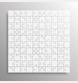 the grey pieces puzzle jigsaw banner vector image