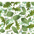 web watercolor foliage background for wedding vector image