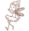A plain sketch of a fairy