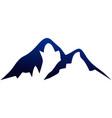 abstract mountain design logo icon concept vector image vector image