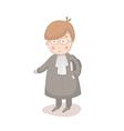 Cartoon of lawyer vector image vector image