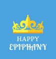 Epiphany Greetings poster vector image
