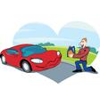 favorite car vector image vector image