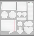 Paper objects vector | Price: 1 Credit (USD $1)