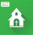 church sanctuary icon business concept church vector image