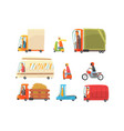 public and personal transport toy cars and trucks