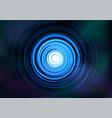 Abstract symmetrical fractal tornado spiral