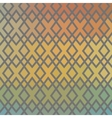 Ethnic chequered texture Abstract geometric vector image vector image