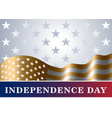 independence day usa background flag vector image vector image