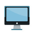 screen monitor computer device technology icon vector image vector image