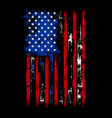 usa distressed flag vector image