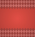 vintage seamless border background vector image vector image