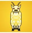 a mountain goat vector image
