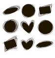 tags set for inscriptions labels for products vector image