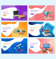 astronomy and coding school disciplines subjects vector image vector image