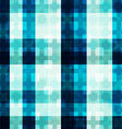 blue light mosaic seamless pattern vector image