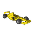 car racingextreme sport single icon in cartoon vector image vector image