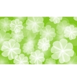 floral background flower vector image vector image