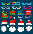 happy new year and christmas holiday paper vector image vector image