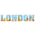 london skyline 11 vector image vector image